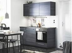 küchenzeile mit herd modern brown kitchen with tingsryd fronts and a