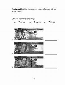 money worksheets for grade 3 philippines 2539 math gr 1 l ms q2