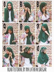 Cara Memakai Jilbab Syar I Kreasi Modern Cara Memakai