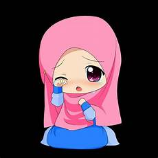 Gambar Kartun Muslimah Menangis Via Bit Ly