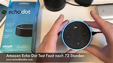 echo dot anschlüsse echo dot test fazit nach 72 stunden