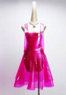 plastic clothes vinyl pvc vinyl plastic dress harajuku summer 2019 festival