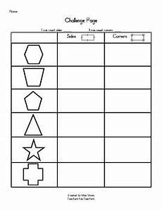 2d flat shapes challenge math ideas pinterest 2d count and shapes worksheets