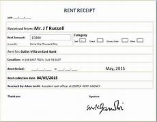 free rent receipt template excel free rental receipt template excel templates
