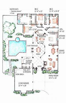 luxury ranch house plans 18 awesome luxury ranch house plans with indoor pool image