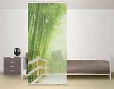 Design Raumteiler Bamboo Way Schiebe Vorhang Gardine