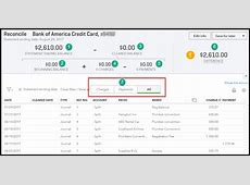 how to reconcile quickbooks online