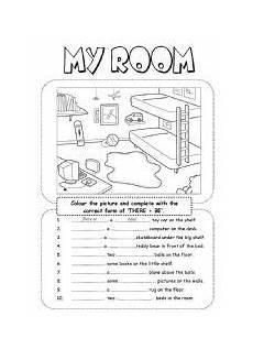 worksheets rooms 19037 my house kindergarten worksheet search casa en ingles adjetivos ingles adjetivos