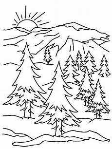 Ausmalbilder Urlaub Berge Ausmalbilder Berglandschaft 1ausmalbilder