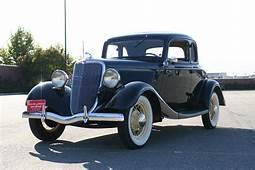 Photo 1934 Ford Model B 4 Cylinder 5 Window 1a  1933