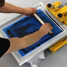 t shirts selber bedrucken das siebdruckverfahren