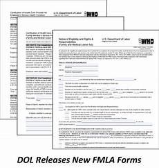 dol releases new fmla forms cbg benefits