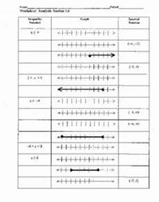 worksheet analysis section 1 6 graphing inequalities worksheet for 9th 11th grade lesson planet