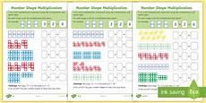multiplication worksheets ks1 printable 4460 ks1 number shape multiplication differentiated worksheets