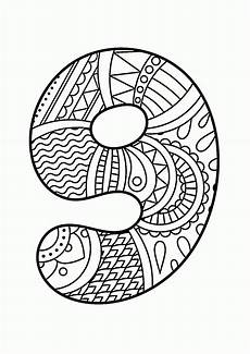 mandala coloring pages by numbers 17867 pattern number 9 coloring pages for education printables free wuppsy boyama