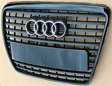 genuine audi a6 4f front radiator grill grilles s line c6