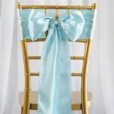 10 new satin chair sash bows ties wedding bridal party supplies decorations sale ebay