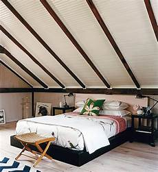 Angled Slanted Ceiling Bedroom Ideas by How To Decorate Rooms With Slanted Ceiling Design Ideas