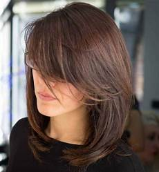 medium hairstyles with side fringe 40 side swept bangs to sweep you your