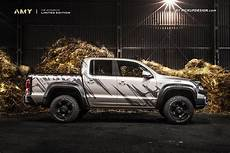 a modified exterior and custom interior make the vw amarok carscoops
