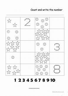 counting numbers worksheets 1 10 7986 numbers 1 10 worksheet free esl printable worksheets made by teachers