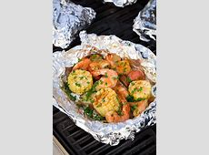 Grilled Shrimp Boil Packets   Cooking Classy
