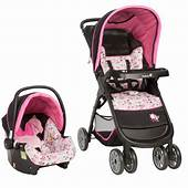Disney Baby Minnie Mouse Amble Quad Travel System With