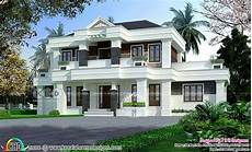new model house kerala style 65 small two modern colonial mix house 65 lakhs kerala home design