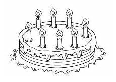 Malvorlagen Kinder Torte 36 Malvorlage Happy Birthday Besten Bilder Ausmalbilder