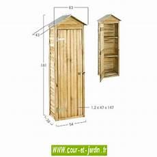 Armoire De Jardin En Bois Rangement Ext 233 Rieur Armoires