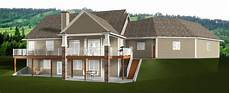 bungalow house plans with walkout basement bungalow plan 2014805 by e designs bungalow house plans