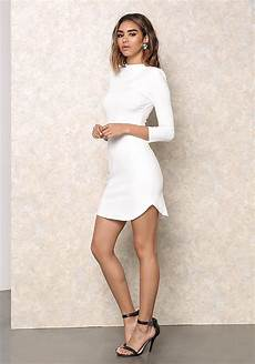 clothing white form fitting padded shoulder loveculture com