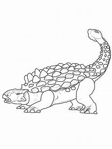 Ausmalbilder Dinosaurier Ankylosaurus Ausmalbild Dinosaurier Und Steinzeit Dinosaurier