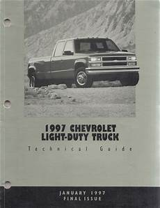 free auto repair manuals 1997 chevrolet tahoe regenerative braking 1997 c k truck repair shop manual original set pickup suburban tahoe yukon