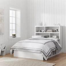 bed headboard store it 6 cubby bed storage headboard pbteen