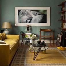 wohnideen wohnzimmer gelb gr 252 n retro klassik einrichtung wohnzimmer design wohnideen