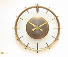 stunning deco wall clock europa germany bauhaus 50s