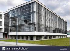 dessau germany march 30 2018 the bauhaus art school