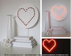 diy heart wall l paper plate and plane