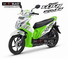 Modifikasi Beat F1 by Inikah Penakan Honda Beat Fi Click 2014 Motoblast