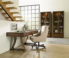 wooden office furniture for the home big sur medium wood home office set from hooker coleman