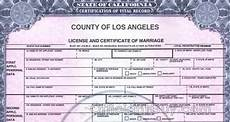 Marriage License Los Angeles getting certified copies of california marriage