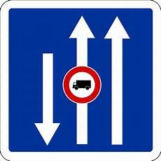 route sens panneau d indication de conditions particuli 232 res de