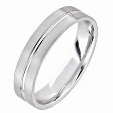 platinum modern groove wedding ring pravins jewellers