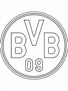 bvb logo zum ausmalen social networking ausmalen