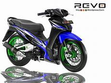 Variasi Motor Revo by Design Modifikasi Bebek Revo 4 Kolor Vixy182 S