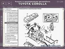 1998 toyota corolla engine diagram toyota manual corolla 1992 1998 repair manuals wiring diagram electronic parts