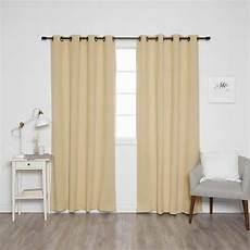 home fashion gardinen best home fashion 84 in l onyx grommet blackout curtains