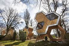 Tree Inspired Pyramid House Design Blending Eco Friendly Ideas Look