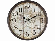 design m 233 tal horloge murale avec vitre en verre vintage